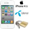 Låsa upp Iphone 4S från Telenor