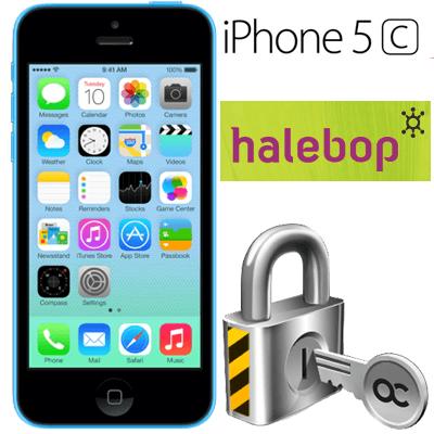 Låsa upp Iphone 5C från Halebop