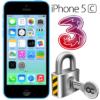 Låsa upp Iphone 5C från Tre