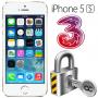 Låsa upp Iphone 5S från Tre