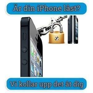 Är min iPhone låst?