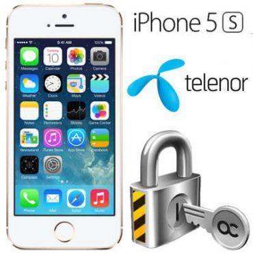 Låsa upp Iphone 5S från Telenor