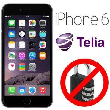 Låsa upp Iphone 6 från Telia