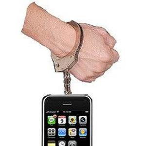 Stöldspärrad iPhone