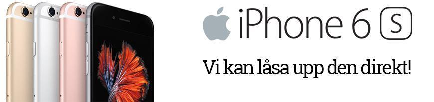 iPhone 6S kan vi låsa upp åt dig.