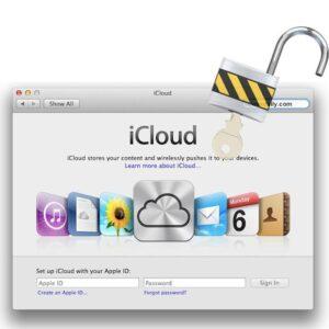 Låsa upp iCloud från MacBook