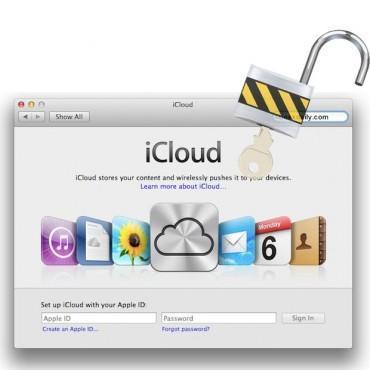 Låsa upp MacBook från iCloud