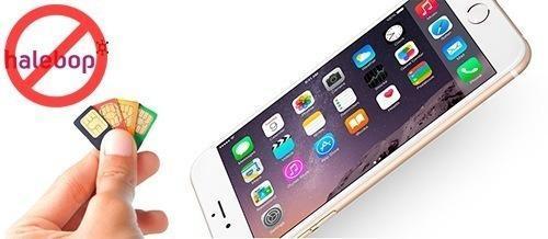 Låsa upp Iphone 7 från Halebop