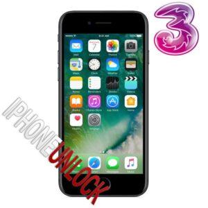 Låsa upp Iphone 7 från TRE