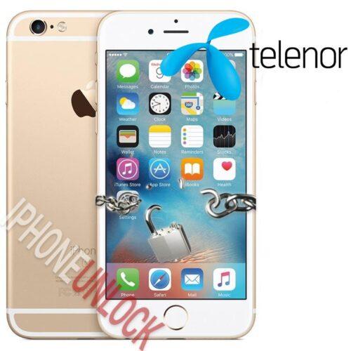 Låsa upp iPhone 6S Plus från Telenor