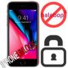 Låsa upp Iphone 8 från Halebop