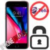 Låsa upp iPhone 8 från Telia